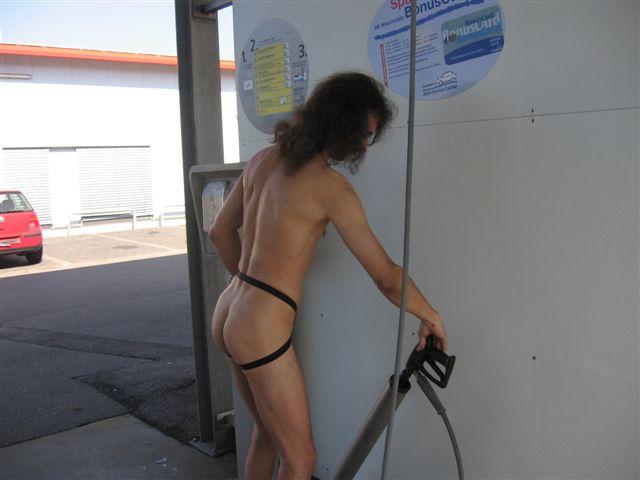 Slip Auto Waschen