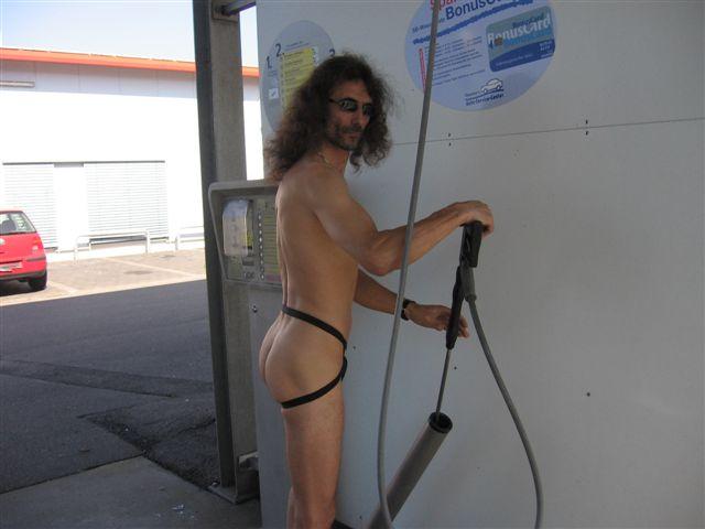 Ferien Auto Waschen