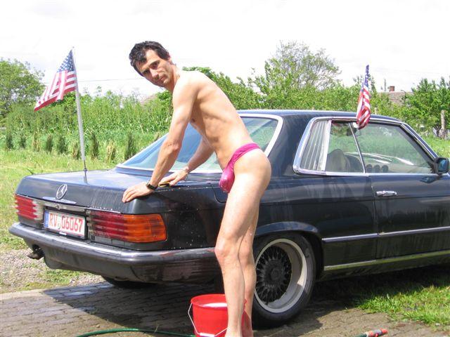 string Auto Waschen