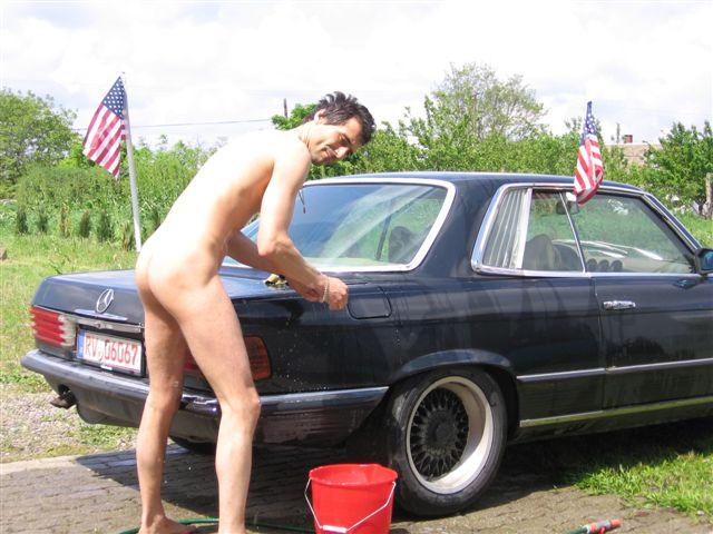 sexy page Auto Waschen