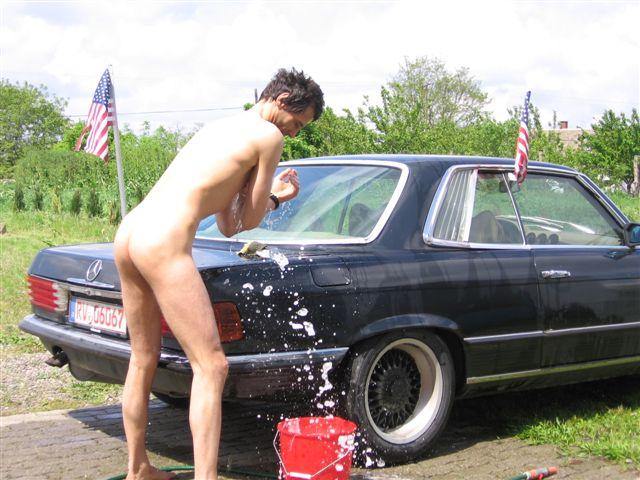 badestring Auto Waschen