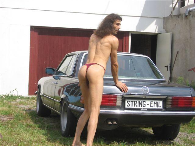 tiny bikini Autoshow