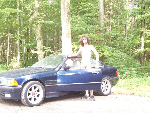 knappes Stoffdreieck BMW