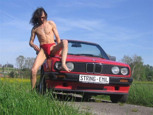 tiny bikini BMW