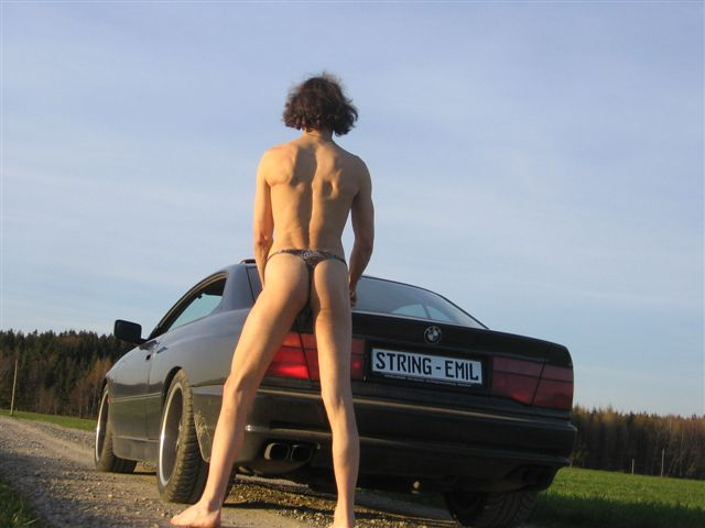 Men String Tanga BMW