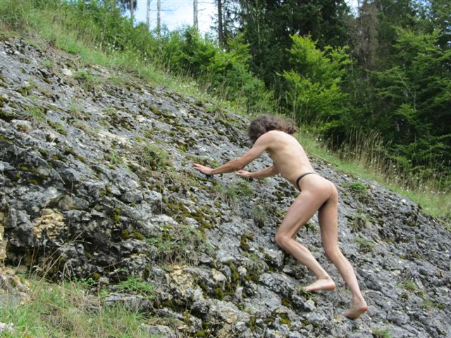 micro Bergsteigen
