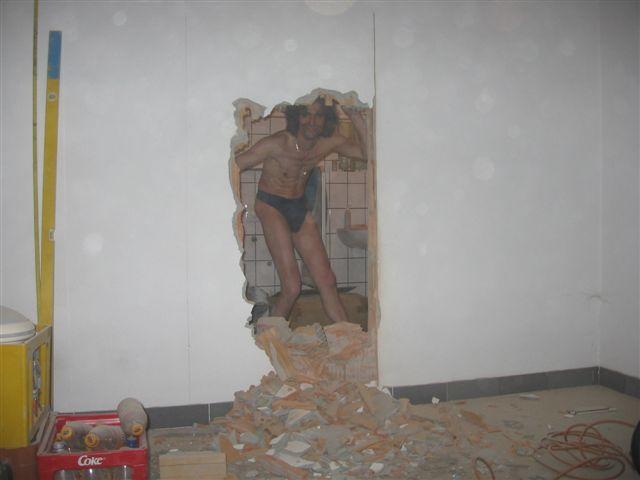Sex durch die Wand