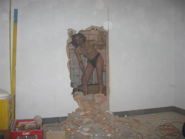 Fio Dental Durch die Wand