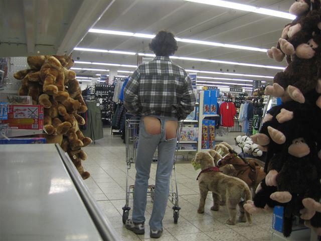Slip Einkaufen