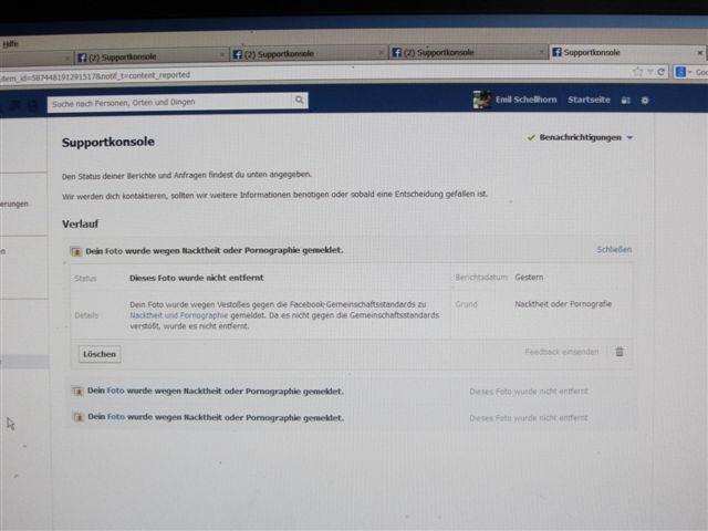Tanga Facebook Zensur