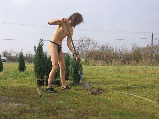 micro Gartenarbeit
