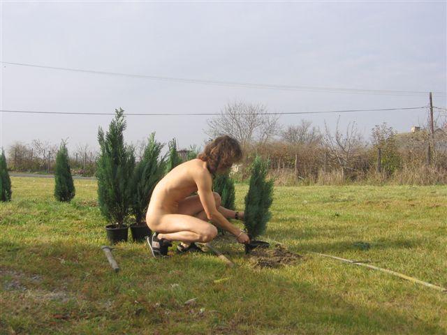 Ferien Gartenarbeit