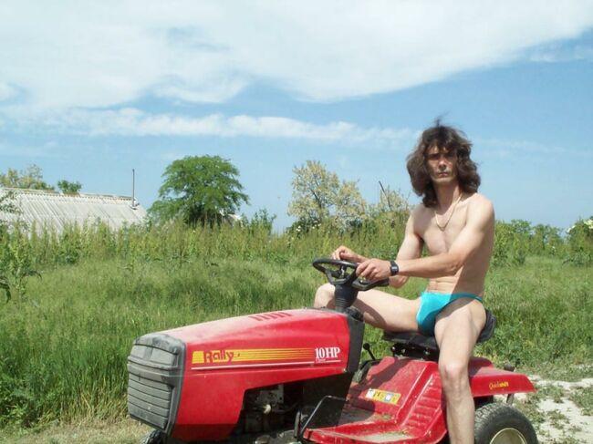auto Gartenarbeit