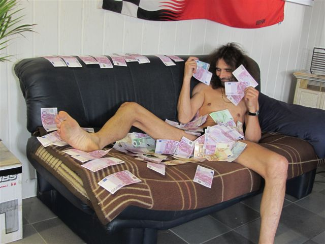 Geld baden