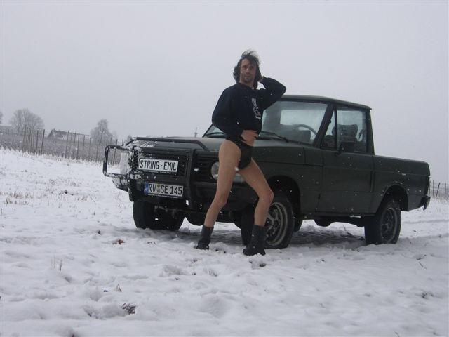 boxenluder Im Schnee