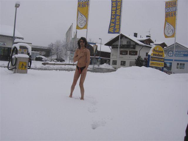 strings Im Schnee