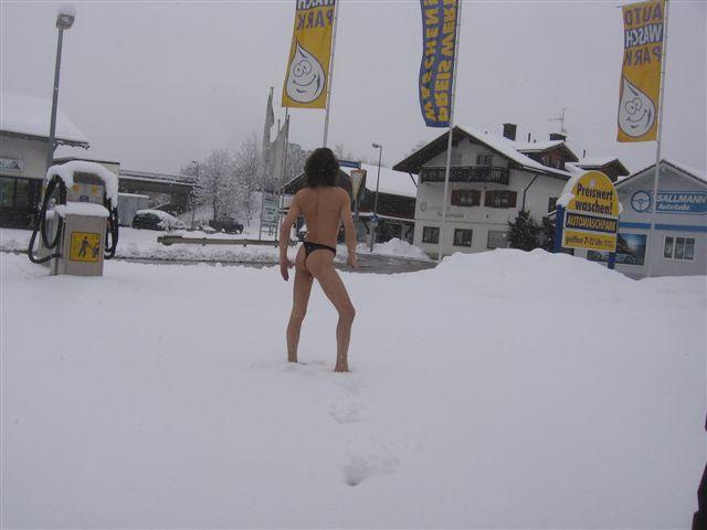 Sigmaringen Im Schnee
