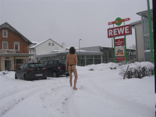 Badi Im Schnee