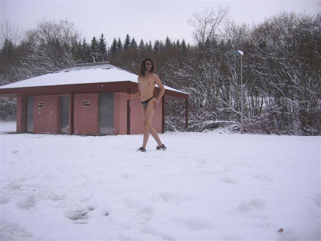 Deckenpfronn Im Schnee