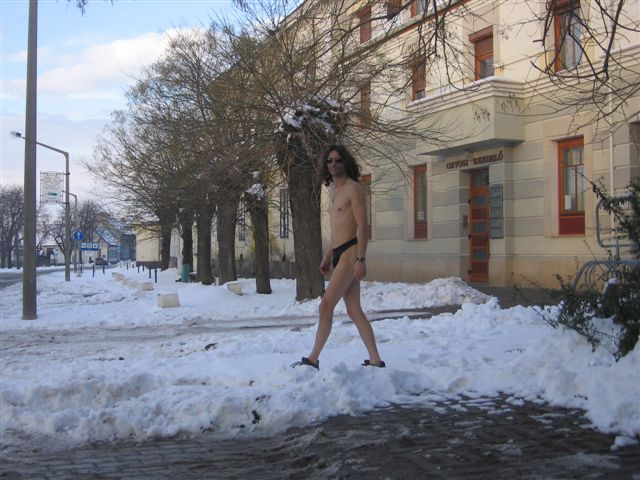 Nickelsdorf Im Schnee
