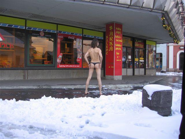 Frankreich Im Schnee