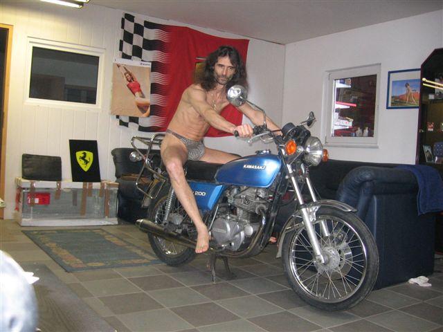badestring Motorrad