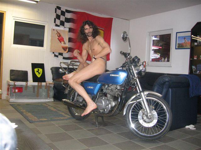 hipster Motorrad