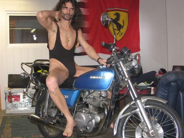 underwear Motorrad