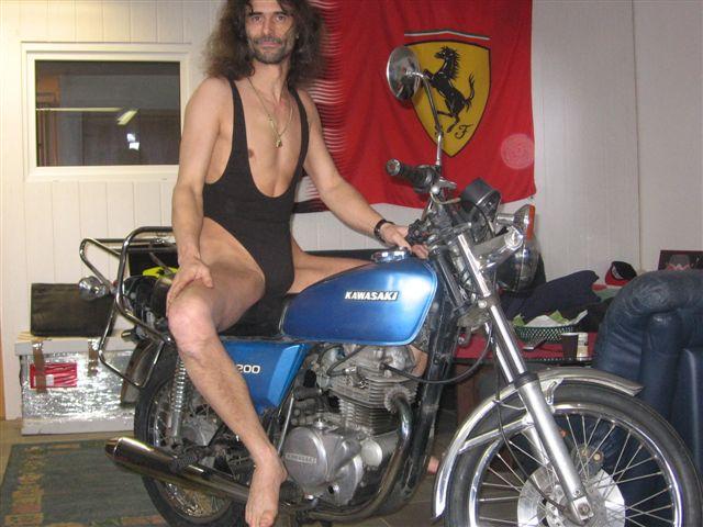 Swim Motorrad