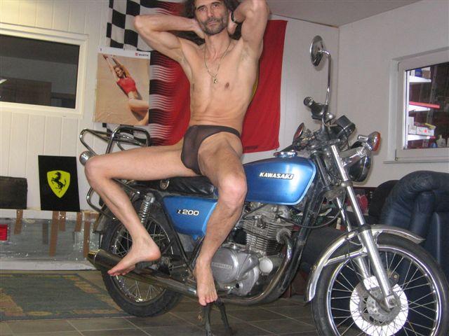 thong bikini Motorrad