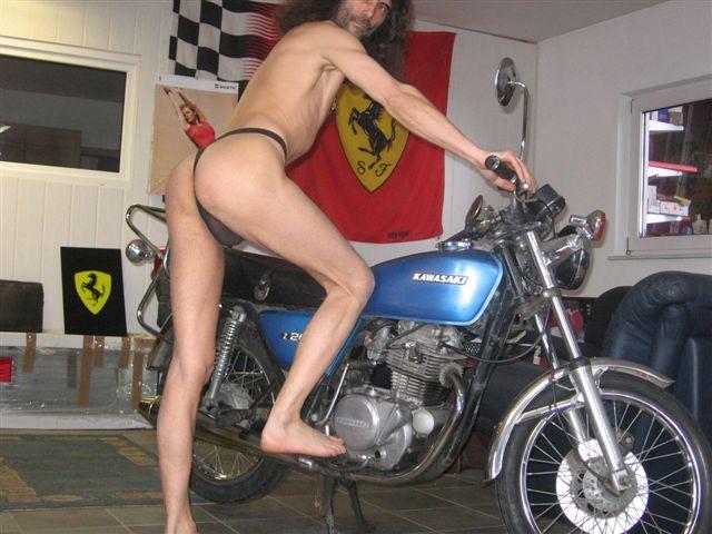 panties Motorrad