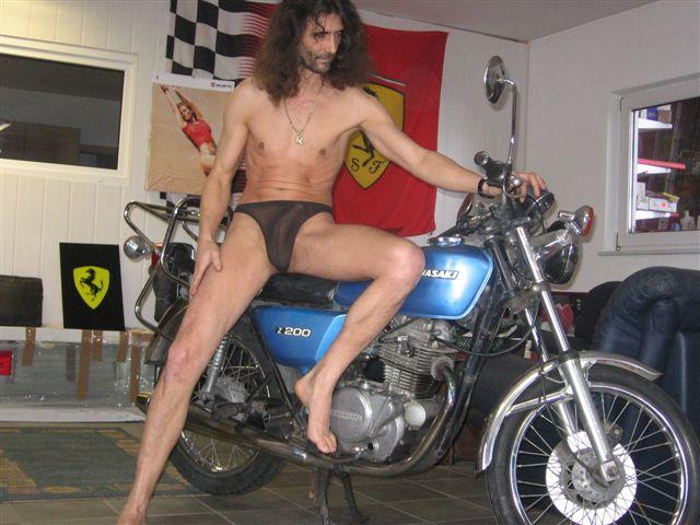 Beachwear Motorrad