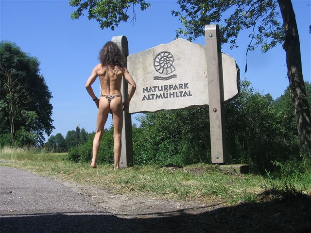 knappes Stoffdreieck Naturpark