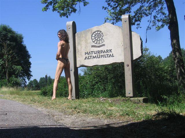 tiny bikini Naturpark