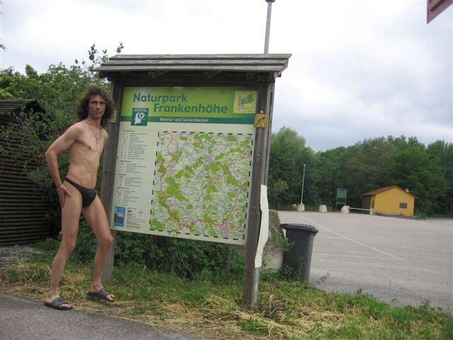 thong bikini Naturpark