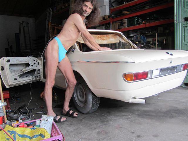 thong bikini Oldtimer