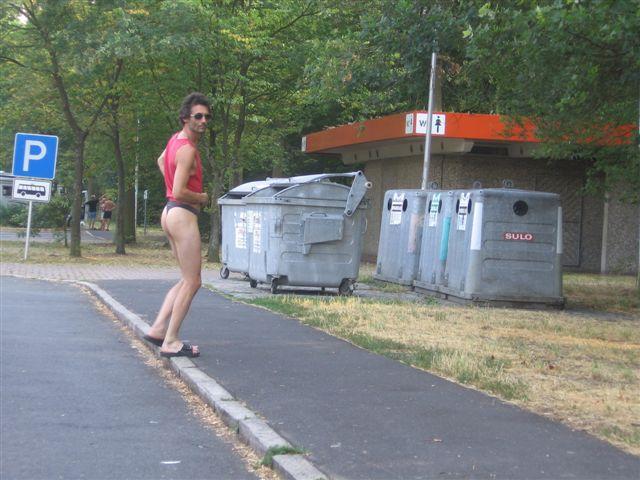 brasilianisch Parkplatz