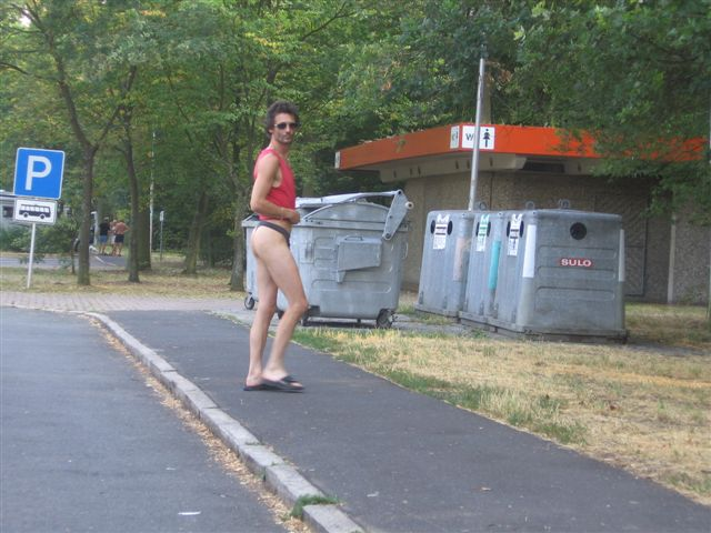 bikinimode Parkplatz