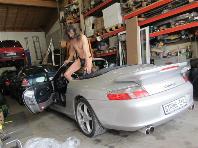 Superministringbikini Porsche