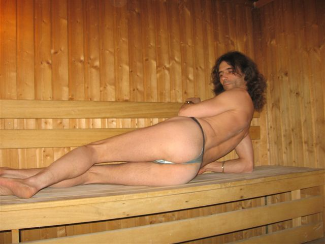 tiny bikini Sauna