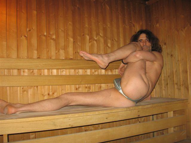 Superministringbikini Sauna
