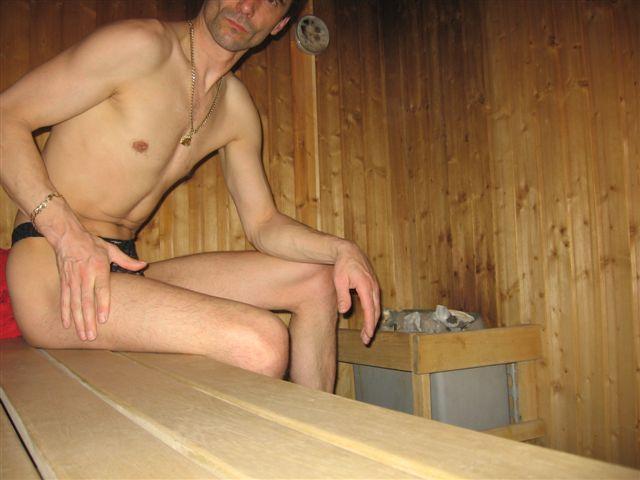 badestring Sauna