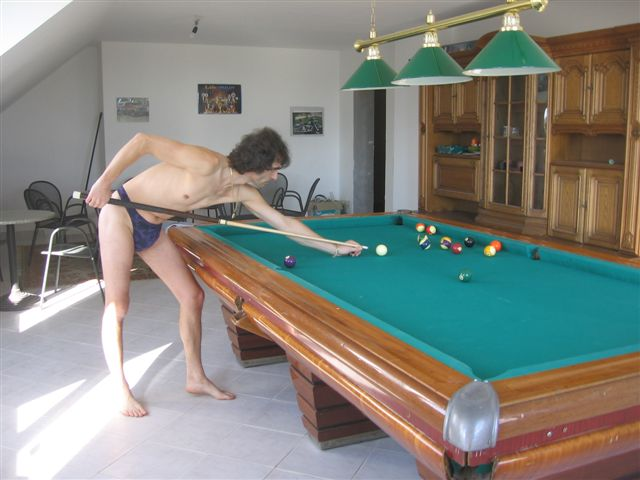 Men String Tanga Snooker