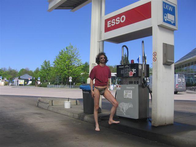 Sch�nenbodensee Tankstelle