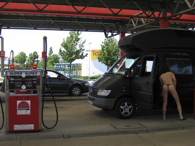Unstrut Tankstelle