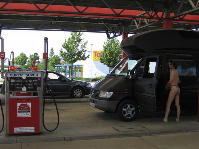 optimierung Tankstelle