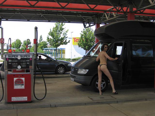 deutschland Tankstelle