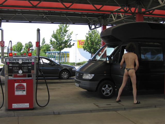 Augustusburg Tankstelle