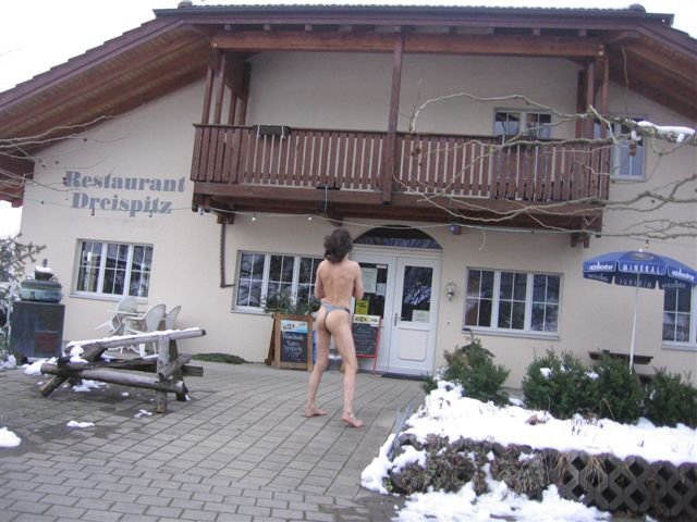 thong bikini Tour/In der Schweiz