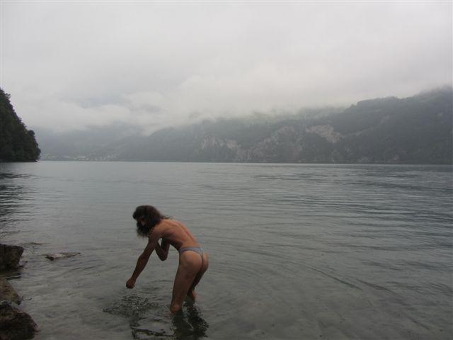 badestring Tour/In der Schweiz